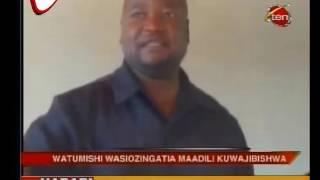Watumishi Wa Afya Somanda Waaswa Kuzingatia Maadili