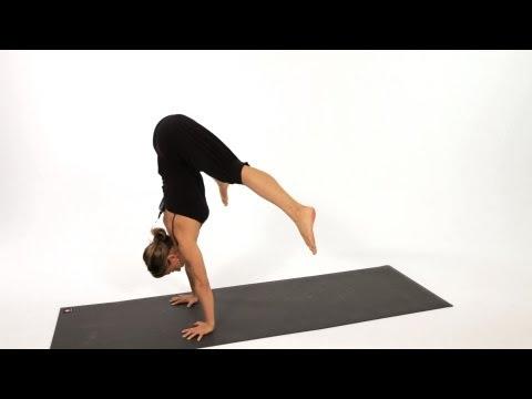 How to Do a Press Handstand | Yoga