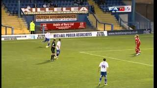 Bury 0-2 Crawley Town  | The FA Cup 1st Round 12/11/11