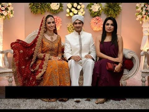 Javed Sheikh S Son Shehzad Wedding Cermony Hily Married Snaps