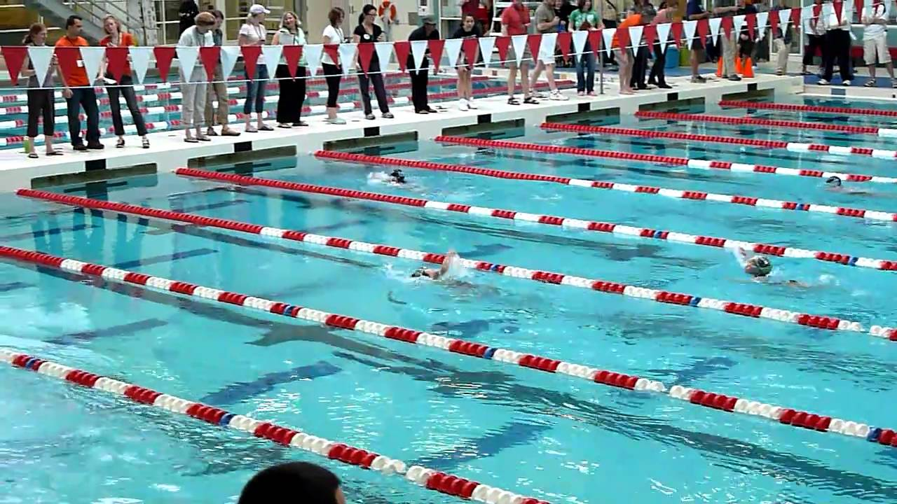 Sarah Freestyle Swim Team Championship Boston University Agganis Pool Youtube