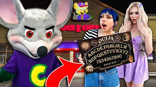 We Played The Ouija Board at a HAUNTED Chuck E Cheese! (5 KIDS WENT MISSING!?)