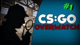 CS GO Overwatch #Bölüm 1#  Efsane Zengin,Noob Hacker!