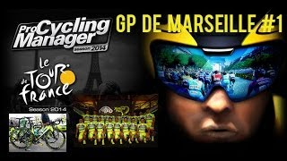Pro Cycling Manager 2014 gameplay ita Team Neri Sottoli GP DE MARSEILLE #1