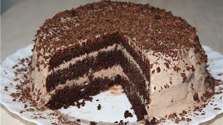 ОЧЕНЬ ВКУСНЫЙ ШОКОЛАДНЫЙ торт рецепт