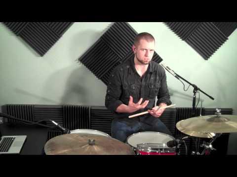 YouTube How To - Basic Jazz Drum Beat - Drumming