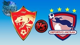 Coatepeque 3 - 2 Mictlán | Jornada 14 - Clausura 2014