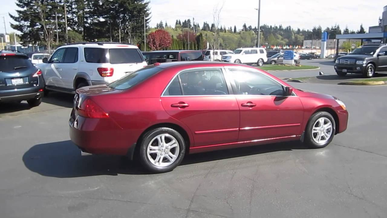 2006 honda accord burgundy stock 140697a walk around for Burgundy honda accord