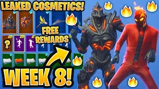 *NEW* All Leaked Fortnite Skins & Emotes..! *WEEK 8 SKIN* (Ruin, Inferno, Switchstep, Dream Feet..)