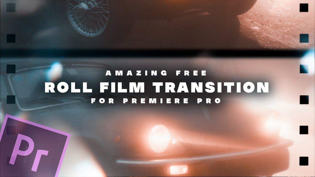 film roll transition premiere pro free