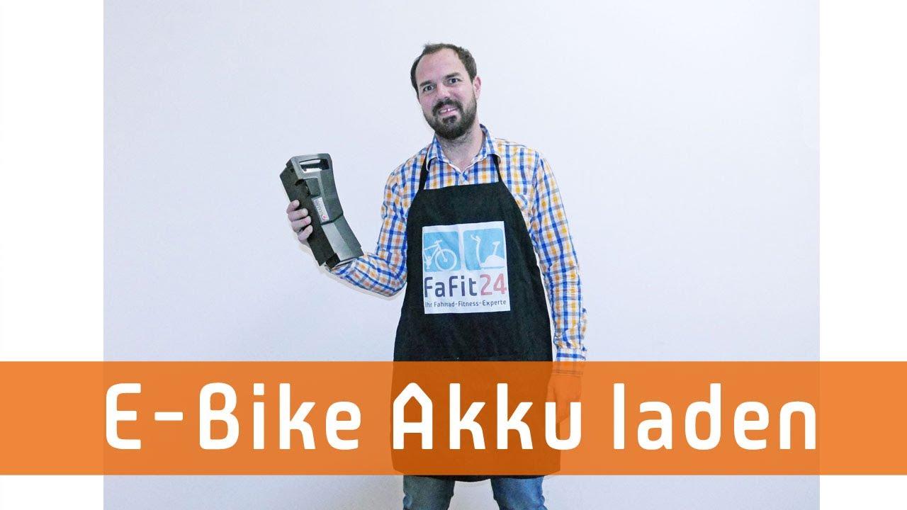 E-Bike Akku richtig laden