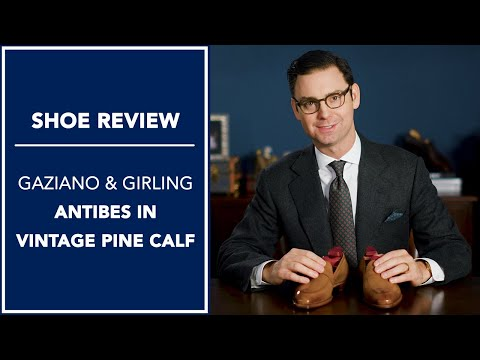 Gaziano & Girling Dress Shoe Review - Antibes in Vintage Pine | Kirby Allison