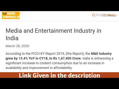 Media and Entertainment Industry in India