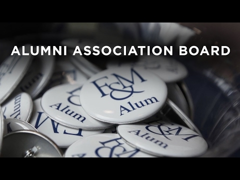 F&M Alumni Association Board