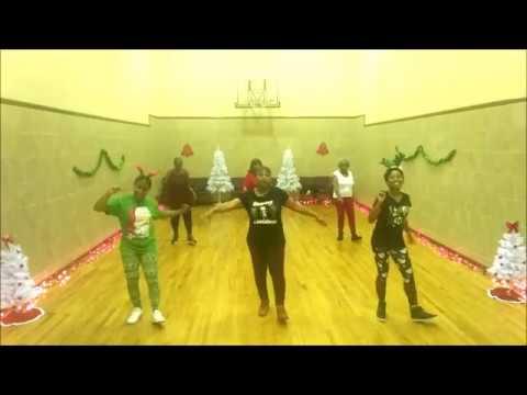 Rockin' Around the Christmas Tree Line Dance - YouTube