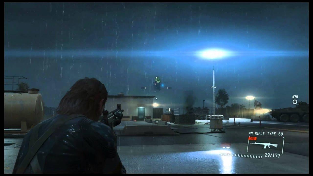 Metal Gear Solid 5 Ground Zeroes Gameplay Gtx 650