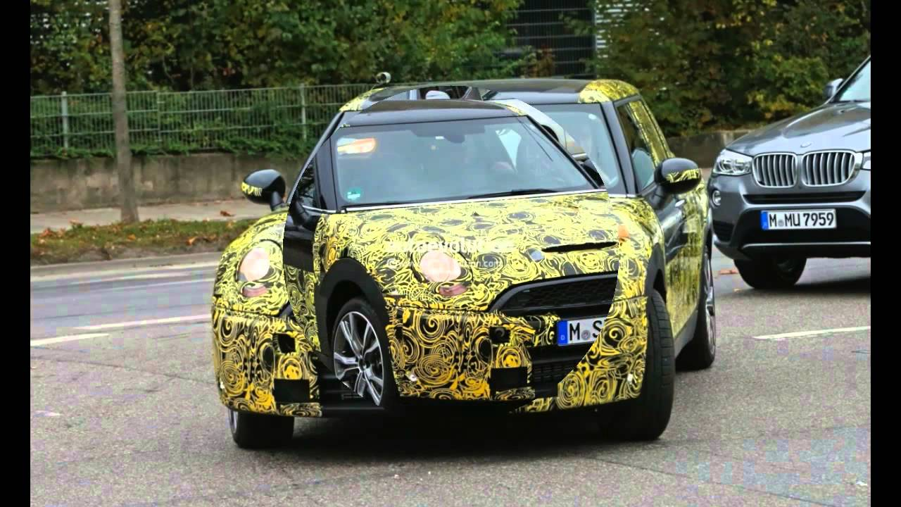 2016 Mini Clubman Get New Interior Spyshot To Be Shown In Full At