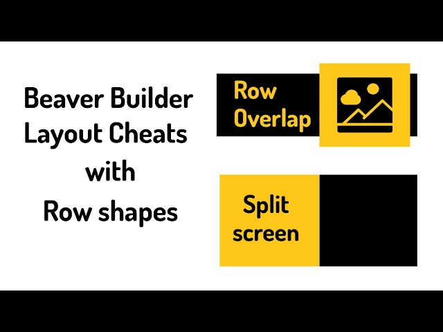 Layout Cheats With Beaver Builder's Rectangle Row Shape