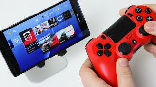 Play your PlayStation 4 on Android!(In this video I go over the cool features of remote play for Playstation 4 and also explain how to use the PS4 controller on your Android phone. This is not the best ..., 2016-03-25T18:48:16.000Z)