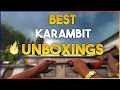 TOP 5 MOST EXPENSIVE KARAMBIT UNBOXINGS EVER!