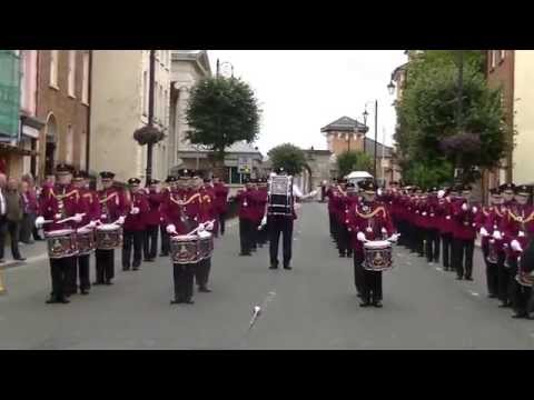 William king Memorial Flute Band in Bishops street londonderry 2015