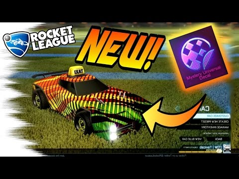 2 New BLACK MARKET MYSTERY DECALS! - Tora & 20XX/Quantize! (Rocket League Turbo Crate)