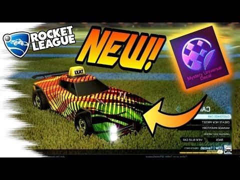 2 New BLACK MARKET MYSTERY DECALS! - Tora & 20XX/Quantize! (Rocket League Turbo Crate)