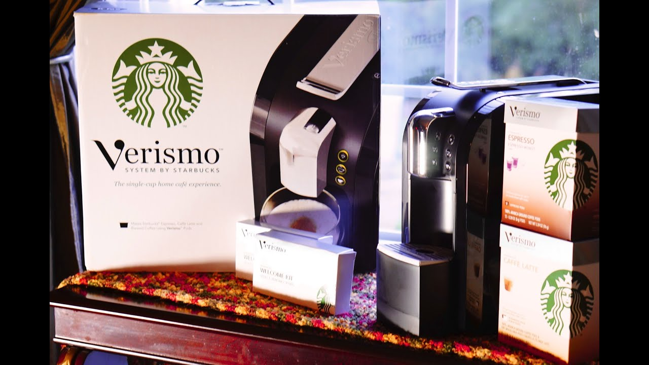 Unique Starbucks Coffee Machines Starbuck Verismo Review Cbtl Comparison And Decorating Ideas