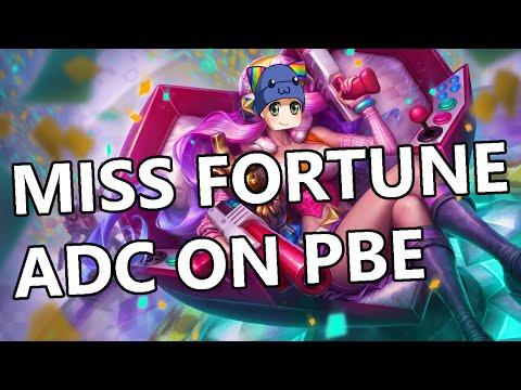 Miss Fortune New Rune Build