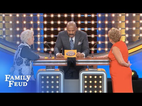 Carol brings her brand of COOL to the podium! | Family Feud