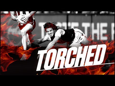Torched: The best baulks, bursts and fends | Round 6, 2018 | AFL