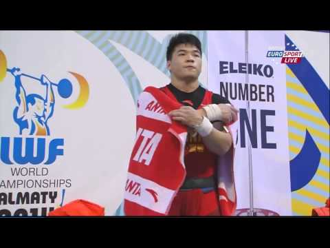 2014 World Weightlifting 85 kg C+Jerk