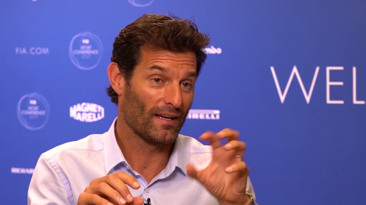 Mark Webber: The future at the FIA Sport Conference