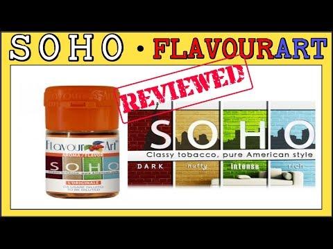 Soho Flavourart Review + Recipe (A very good Medium/Bold Flavor for DIY)