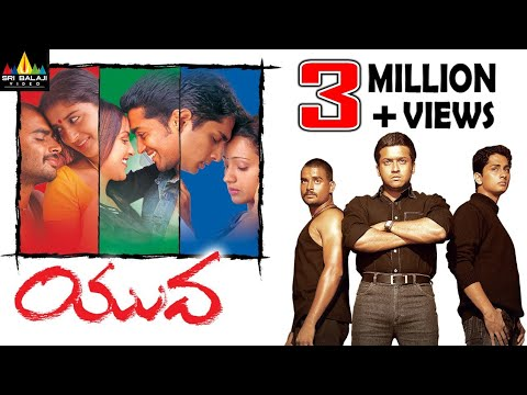 Yuva Telugu Full Movie | Madhavan, Surya, Siddharth, Trisha | Sri Balaji Video