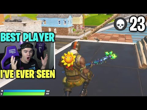 The BEST PLAYER I've Ever SPECTATED On Fortnite...