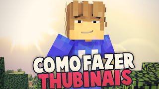 Tutorial #1- Como criar thumbnails de Minecraft
