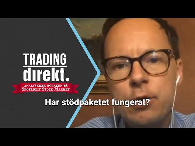 Trading Direkt 2020-07-03: Har Finansutskottets stödpaket fungerat? Gäst: Mats Persson (L)