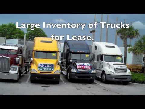 LRM Leasing - NO Credit Check for ALL Semi Truck Leasing!