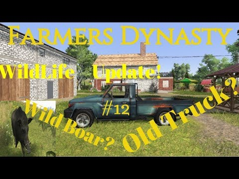 Farmers Dynasty | #12 | Rebuilding the Farm! | Wild Life Update ! |