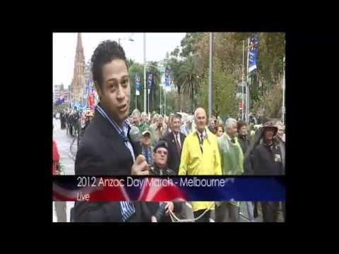 Anzac Day - Melbourne 2012