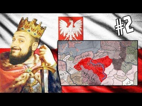KORONACJA NA KRÓLA POLSKI W  875 ROKU! POWIĘKSZAMY TERYTORIUM - CRUSADER KINGS II #2