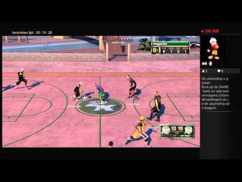 Live PS4-uitzending van villagevoice nba2k16 mypark