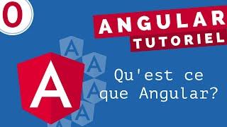 Miniature catégorie - Tutoriel Angular #0 - Qu'est-ce que Angular? (2021)