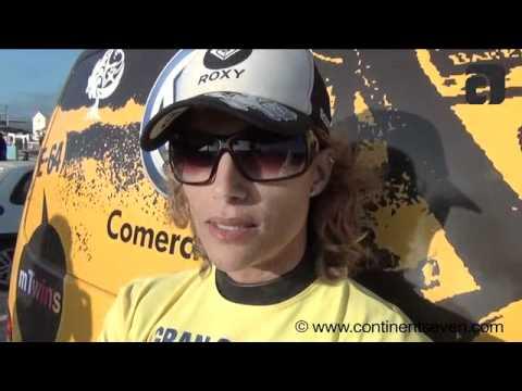 PWA Gran Canaria 2011 - Statement Daida Moreno after the single elimination