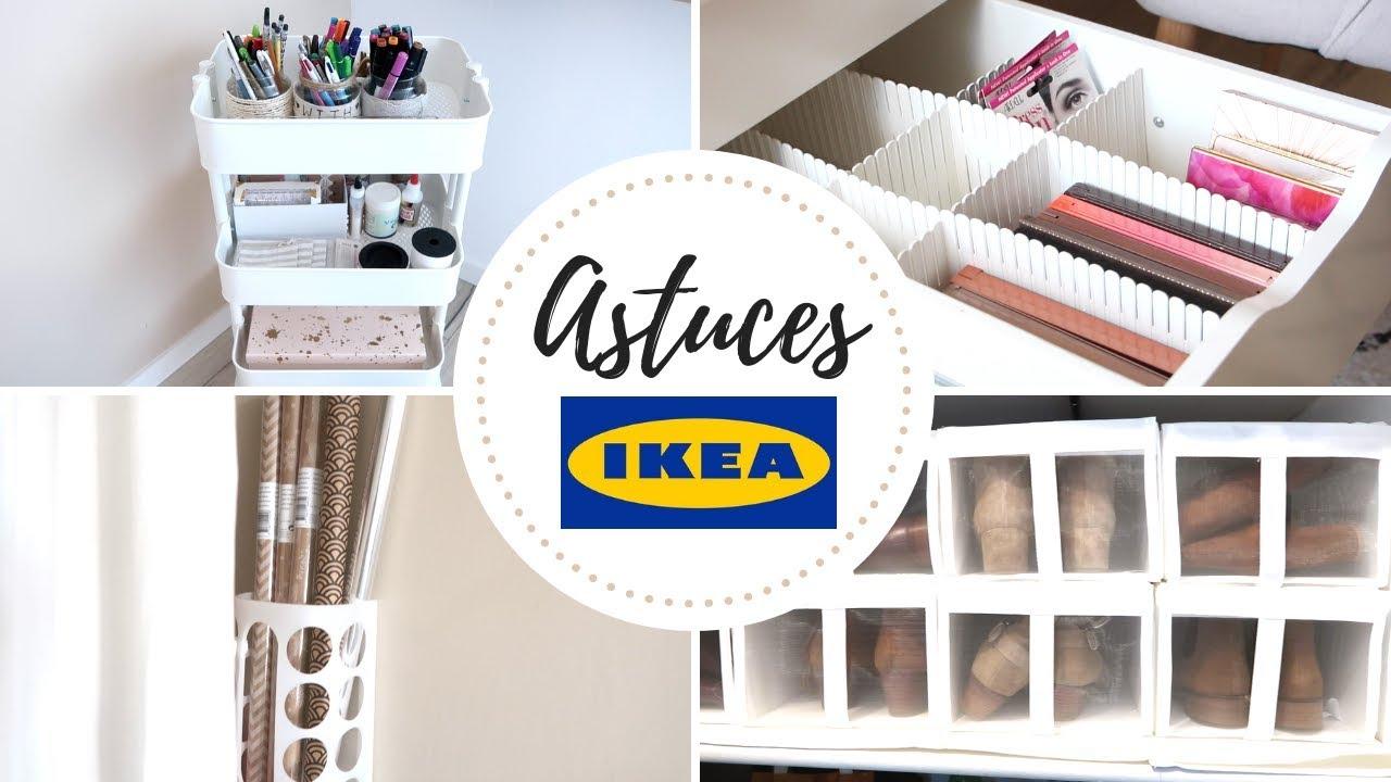 8 Astuces De Rangement Special Ikea Youtube