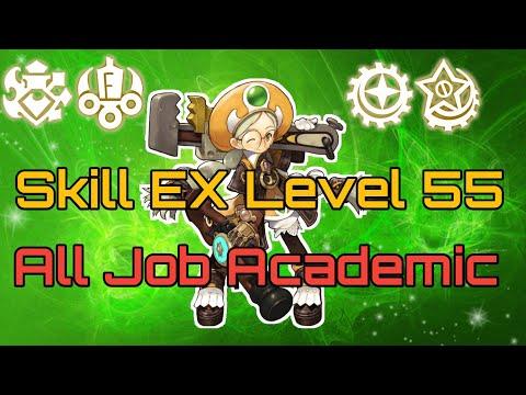 "Skill EX Level 55 All Job Academic Dragon Nest M ""Adept, Physician, Gear Master, Shooting Star"""