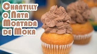 Chantilly o Nata Montada Moka Natural