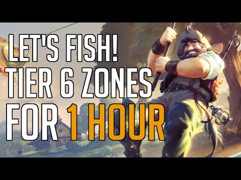 Lets Fish! | Fishing In Tier 6 Zones For 1 Hour In Albion Online!