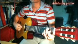 Hướng dẫn điệu Bolero 1 (dẫn bass) - Anhbaduy Guitar Cà Mau